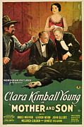 Mother And Young Framed Prints - Mother And Son, Clara Kimball Young Framed Print by Everett