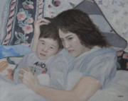 Bed Originals - Mother And Son by Masami Iida