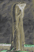 Canadian Mixed Media Prints - Mother Canada I Print by Wayne Bonney