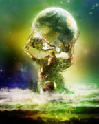 Science Digital Art - Mother Earth by Karen Koski
