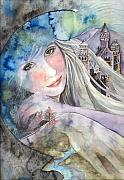 Castles Paintings - Mother Earth by Kim Whitton