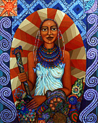 Madalena Lobao-tello Art - Mother Earth by Madalena Lobao-Tello