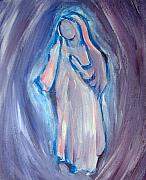 Mediative Paintings - MOTHER MARY Essence by Tara Moorman