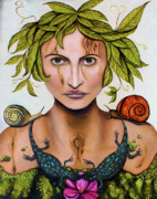 Bizarre Art - Mother nature by Leah Saulnier The Painting Maniac