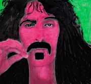Frank Zappa Posters - Mother of Invention Poster by Frank Strasser