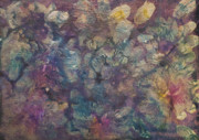 Oil Slick Painting Prints - Mother of Pearl Print by Don  Wright