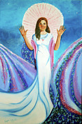 Visionary Paintings - Mother of Us All by Joyce Small