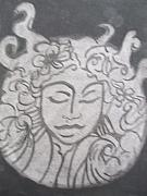 Black And White Reliefs Originals - Mother by Tiffany Lint