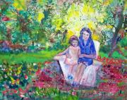 Patricia Taylor Art - Mother with Me by Patricia Taylor