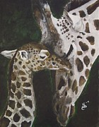 Kim Selig Prints - Motherly Love Print by Kim Selig