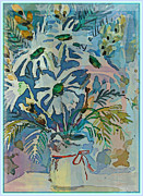 Mothers Daise Print by Mindy Newman