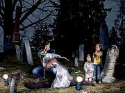 Creepy Digital Art Posters - Mothers Day Poster by Tom Straub