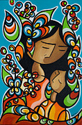 Mother Prints - Mothers Love Print by Mary Tere Perez