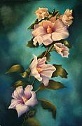 Althea Painting Metal Prints - Mothers Rose of Sharon Metal Print by Marti Bailey