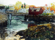 Rockport Paintings - Motif 1 from the other side by Chris Coyne
