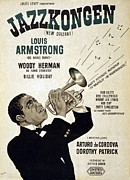 Satchmo Posters - Motion Picture Poster For Swedish Poster by Everett
