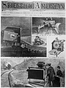 Darkroom Prints - Motion Pictures, 1897 Print by Granger