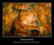 Forgiveness Prints - Motivational Forgiveness Print by Nik Helbig