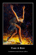 Dancer Art - Motivational Reward by Nik Helbig