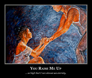 Dancer Paintings - Motivational Support  by Nik Helbig