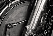 Antique Harley Davidson Photos - Moto Guzzi V7 by Marley Holman