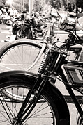 Antique Harley Davidson Photos - Moto Mania by Marley Holman