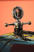 Motometer Framed Prints - Motometer Hood Ornament Framed Print by Jill Reger