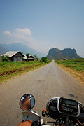 Motorcycle Posters - Motorbike Trip Through Northern Vietnam Poster by Thepurpledoor
