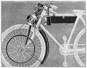 1898 Photos - Motorcycle, 1898 by Granger