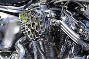 V Twin Prints - Motorcycle engine Print by Mats Silvan