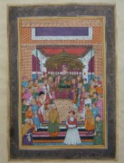 Unknown - Moughal Court Scene