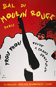 Can Can Prints - Moulin Rouge Poster, 1963 Print by Granger