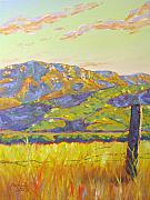 Malibu Painting Prints - Mount Boney Print by Patrick Parker