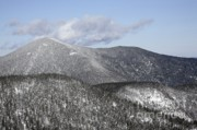 Snow-covered Landscape Prints - Mount Carrigain - White Mountains New Hampshire USA Print by Erin Paul Donovan