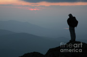 Hike Prints - Mount Clay Sunset - White Mountains New Hampshire USA Print by Erin Paul Donovan