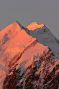 New Zealand Digital Art - Mount Cook Range on South Island in New Zealand by Mark Duffy