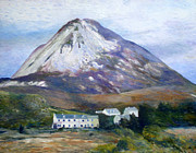 Enver Larney Art - Mount Errigal Co. Donegal Ireland 1997 by Enver Larney