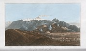 Principles Framed Prints - Mount Etna, 19th Century Framed Print by King