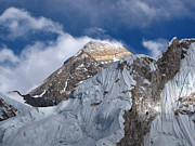 Mt Everest Base Camp Prints - Mount Everest-kala Patar-everest Base Camp Trek-ne Print by Copyright Michael Mellinger