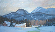 Berkshire Hills Paintings - Mount Greylock by Len Stomski