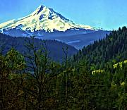 Mt Hood Digital Art - Mount Hood by Dale Stillman