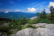 Hunger Framed Prints - Mount Hunger View to Camels Hump Framed Print by John Burk