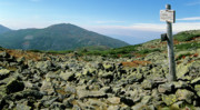 Hike Prints - Mount Jefferson - White Mountains New Hampshire  Print by Erin Paul Donovan