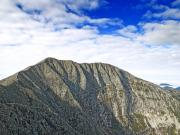 Mount Katahdin Prints - Mount Katahdin in Baxter State Park Maine Print by Brendan Reals