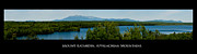 Mt. Katahdin Framed Prints - Mount Katahdin Framed Print by Venura Herath
