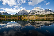 Physical Body Framed Prints - Mount Kidd And Wedge Pond, Kananaskis Framed Print by Zoltan Kenwell
