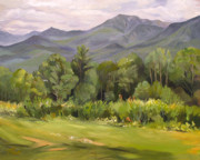 Lafayette Originals - Mount LaFayette from Sugar Hill New Hampshire by Nancy Griswold