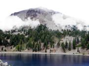 Frank Wilson - Mount Lassen Volcano in the Clouds