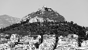 Greek School Of Art Art - Mount Lykavittos by John Rizzuto
