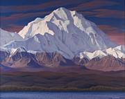 Mckinley Painting Prints - Mount Mckinley  Print by Glen Heberling